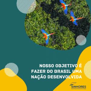 """Nosso objetivo é fazer do Brasil uma nação desenvolvida"""""""