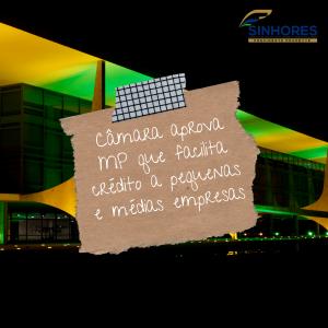 Câmara aprova MP que facilita crédito a pequenas e médias empresas